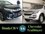 Tư vấn so sánh giá xe 7 chỗ Chevrolet Trailblazer và Honda CR-V 7 chỗ