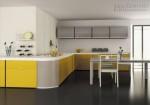 Không gian bếp đẹp với tủ bếp nhôm kính - Sơn đuổi muỗi Antimos