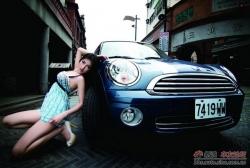 Người đẹp và xe, sự kết hợp đầy quyến rũ
