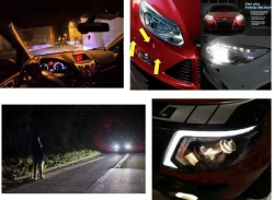 Những tính năng hỗ trợ của Ford khi lái xe ban đêm trong cuộc sống