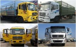 So sánh đánh giá xe tải thùng Dongfeng B170 Hoàng Huy và xe tải Dongfeng Trường Giang 9.6 tấn