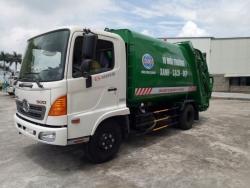 Giá xe ép rác Hino